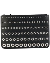 Givenchy - Eyelet Embossed Clutch - Lyst