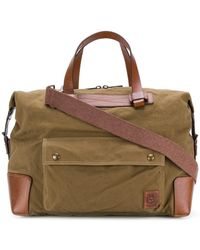 Belstaff | Canvas Holdall | Lyst