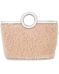 Christian Siriano - Textured Top Handle Tote - Lyst