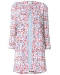 Edward Achour Paris - Textured Single Breast Coat - Lyst