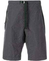 Stella McCartney - Adjustable Belted Waist Shorts - Lyst