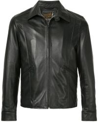 parajumpers brigadier leather jacket