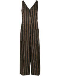 Golden Goose Deluxe Brand - Paisley Pattern Striped Jumpsuit - Lyst