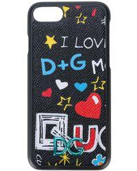 Dolce & Gabbana - Printed Iphone 7 Case - Lyst