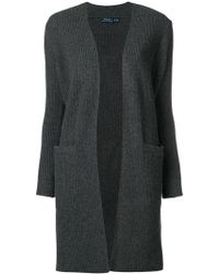 Polo Ralph Lauren - Ribbed Knit Cardigan - Lyst