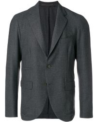 Eleventy - Fitted Classic Blazer - Lyst