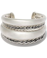 David Yurman - Pure Form Bold Cuff - Lyst
