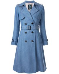 Guild Prime - Double-breasted Trench Coat - Lyst