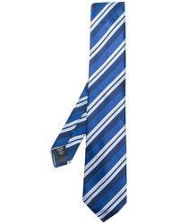 Ermenegildo Zegna - Diagonal Stripe Tie - Lyst