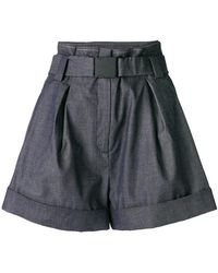 N°21 | High-waisted Denim Shorts | Lyst