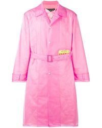 Martine Rose - Wanted Patch Raincoat - Lyst