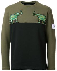 Yoshiokubo - Elephant Patch Sweatshirt - Lyst