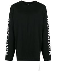 Mastermind Japan - Long Sleeve Skull Print T-shirt - Lyst