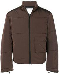 Oakley - Back Zip Puffer Jacket - Lyst