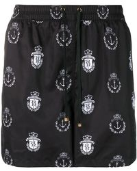 Billionaire - Logo Printed Swim Shorts - Lyst
