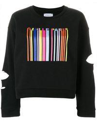 Gaëlle Bonheur - Cut-out Detail Sweatshirt - Lyst