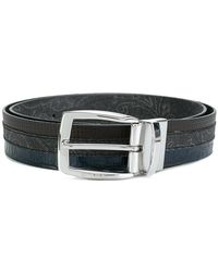 Etro - Striped Belt - Lyst
