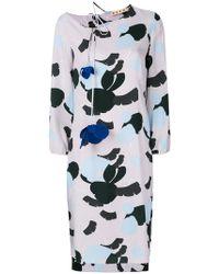 Marni - Havana Print Dress - Lyst