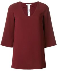 L'Autre Chose - Flared Tunic Top - Lyst