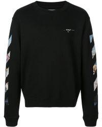 Off-White c/o Virgil Abloh - Sweatshirt mit Pfeilen - Lyst