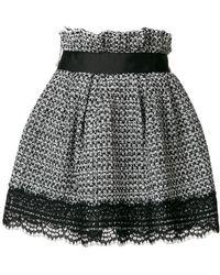 Faith Connexion - Tweed Short Skirt - Lyst