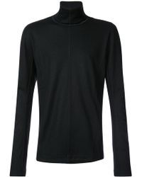 Individual Sentiments - Seam Detail Roll-neck Jumper - Lyst