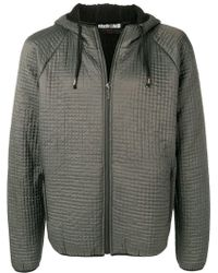Roberto Cavalli - Textured Hooded Jacket - Lyst