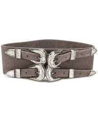 B-Low The Belt - Double Buckle Belt - Lyst