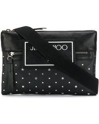 Jimmy Choo - Kimi Star Studded Messenger Bag - Lyst