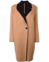 Fausto Puglisi - Single Breasted Coat - Lyst