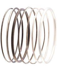 Ann Demeulemeester - Bracelet Mix - Lyst