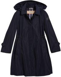 Burberry - Detachable Hood Showerproof Coat - Lyst