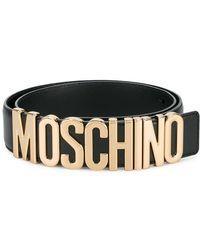 70210d686a Women's Moschino Belts - Lyst