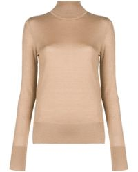 JOSEPH - Lightweight Turtleneck Sweater - Lyst