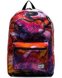 Herschel Supply Co. - Multicolour Snoopy Galaxy Print Backpack - Lyst