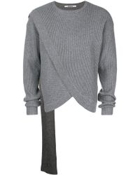 Chalayan - Ribbed Scarf Sweater - Lyst