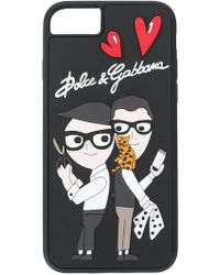 Dolce & Gabbana - Rubber Iphone 7/8 Cover With The Designers - Lyst