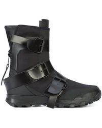 Yohji Yamamoto - Yy Ster Jet Black Sneaker - Lyst