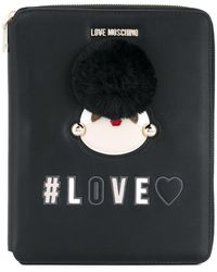 Love Moschino - Love Zipped Notebook - Lyst
