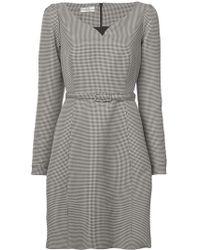 Co. - Sweetheart Neck Belted Dress - Lyst