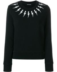 Neil Barrett - Designer Printed Sweatshirt - Lyst