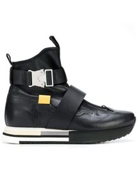 Artselab - Rollercoaster Buckle Trainer Boots - Lyst