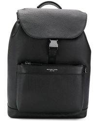 7bc280a7f1a6 Lyst - Michael Kors Streamlined Mk Logo Backpack in Black for Men