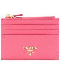 Prada - Classic Card Holder - Lyst