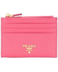 Prada - Classic Card Holder - Lyst