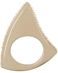 Givenchy - Shark Tooth Ring - Lyst