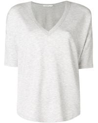 Rag & Bone - V-neck T-shirt - Lyst