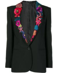 Paul Smith - Ocean Embroidered Blazer - Lyst