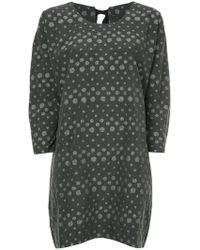 Uma Wang - Dotted Mini Dress - Lyst