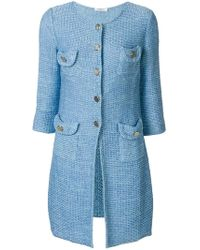 Charlott - Knit Coat - Lyst